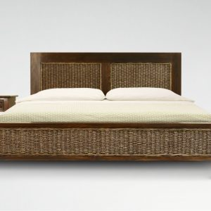 Kaloka Wicker Bed