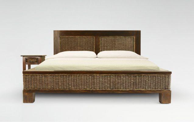Kaloka Wicker Bed