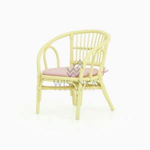 Jimmy Rattan Kids Chair yellow with watermark