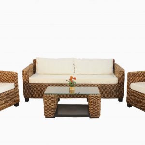 Swenia Rattan Living Set