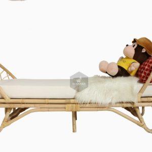 Marion Rattan Toddler Bed Depan
