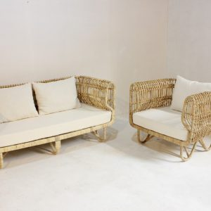 Paula Rattan Living Room Furniture