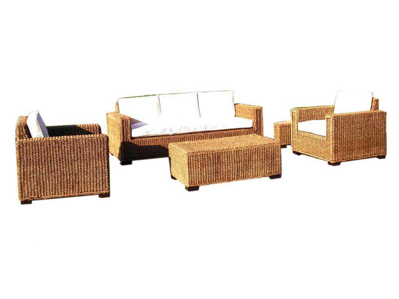 Javier Wicker Living Set