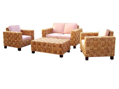 Agas Wicker Living Set