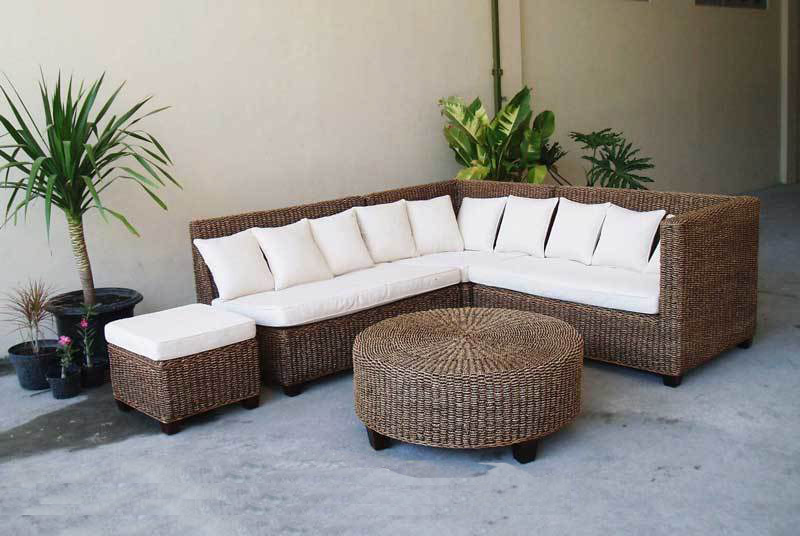 Laluba Wicker Corner Set