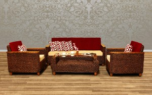 Padova Wicker Living Set
