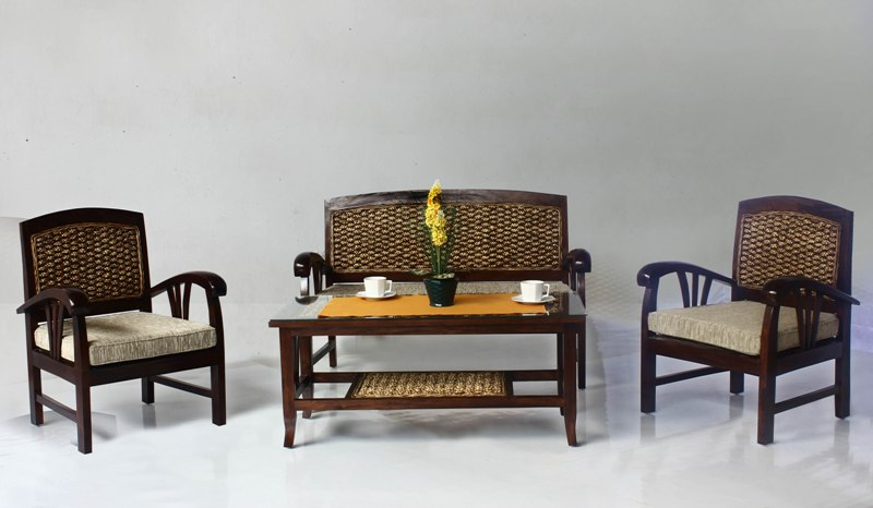 Costa Wicker Living Set