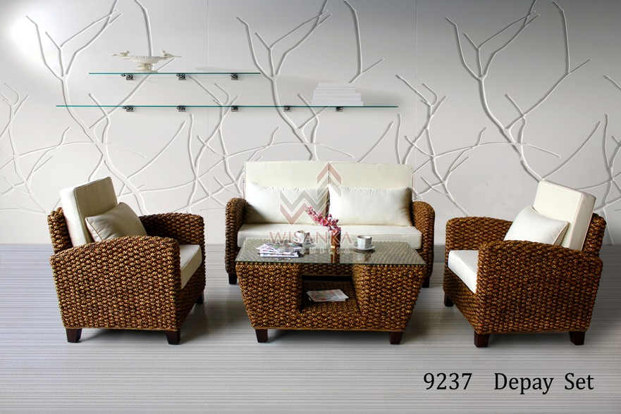 Depay Wicker Living Set
