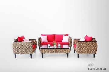 Falcon Wicker Living Set