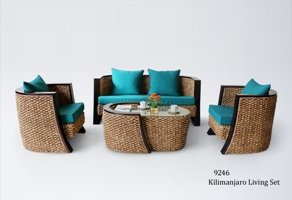 Kilimanjaro Wicker Living Set