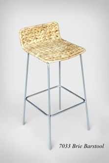 Brie Wicker Barstool