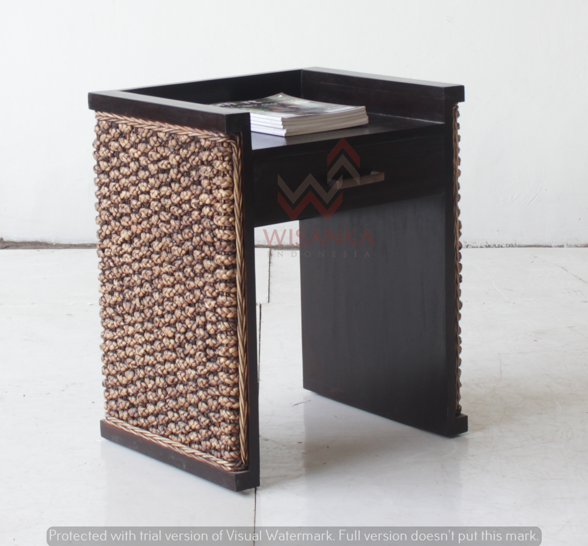 Jimmy Rattan Side Table