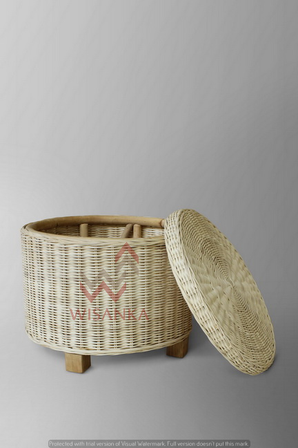 Celtic Rattan Side Table