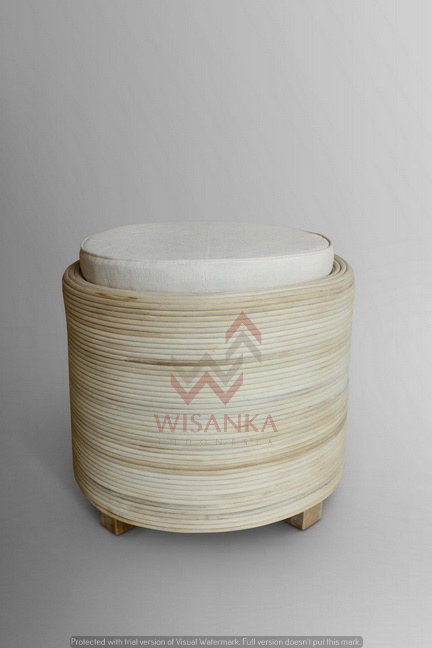 Dove Stool (rattan Core)