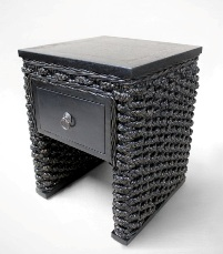 Aqua Side Table
