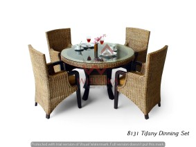 Tiffany Dinning Set