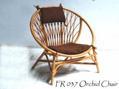 Orchid Rattan Chair