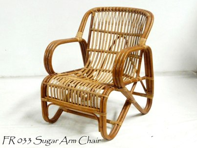 Sugar Rattan Arm Chair