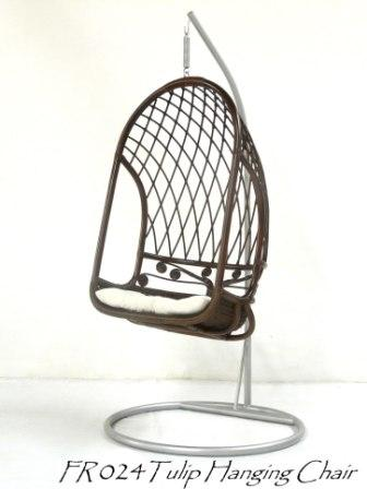 Tulip Cane Hanging Chair