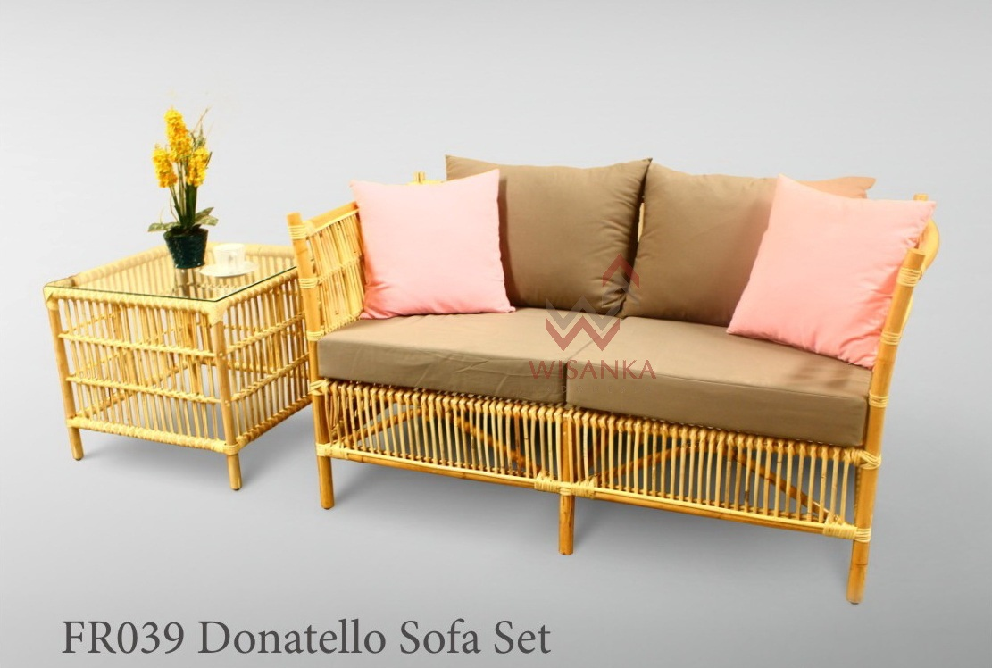 Donatello Rattan Sofa Set