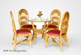 Aru Rattan Dining Set