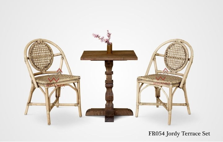 Jordy Rattan Terrace Set