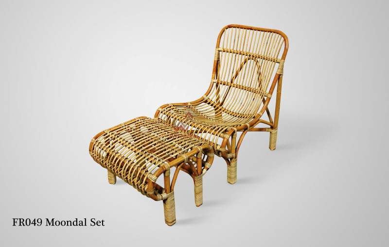 Moondal Rattan Chair Set