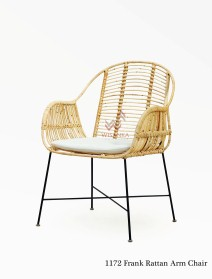 Frank Rattan Arm Chair