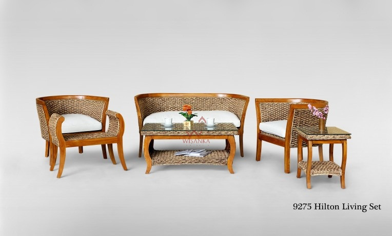 Hilton Wicker Living Set