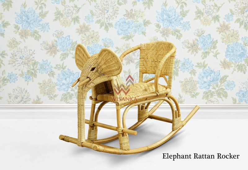 Astounding Elephant Wicker Rocker Spiritservingveterans Wood Chair Design Ideas Spiritservingveteransorg
