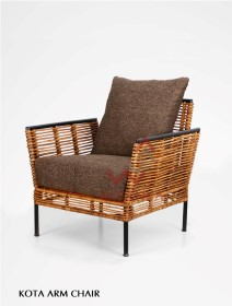 Kota Rattan Arm Chair