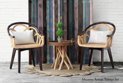 Maureen Rattan Terrace Set