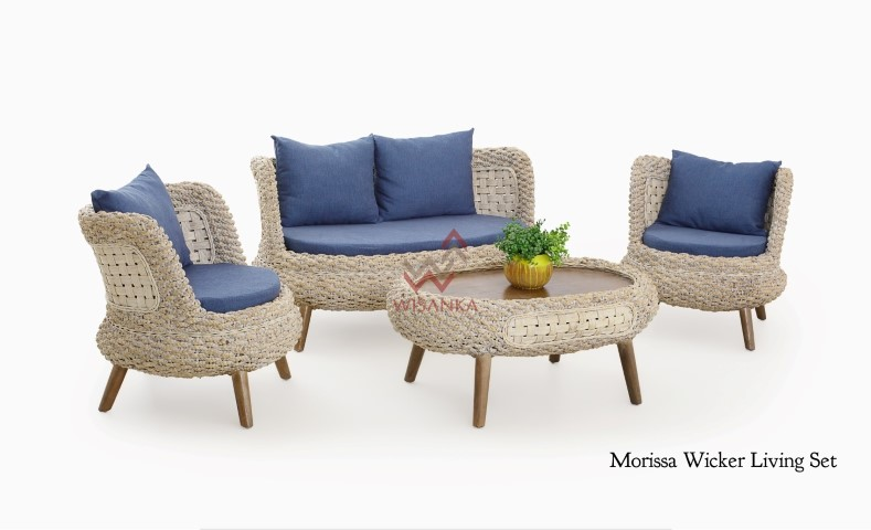 Morissa Wicker Living Set
