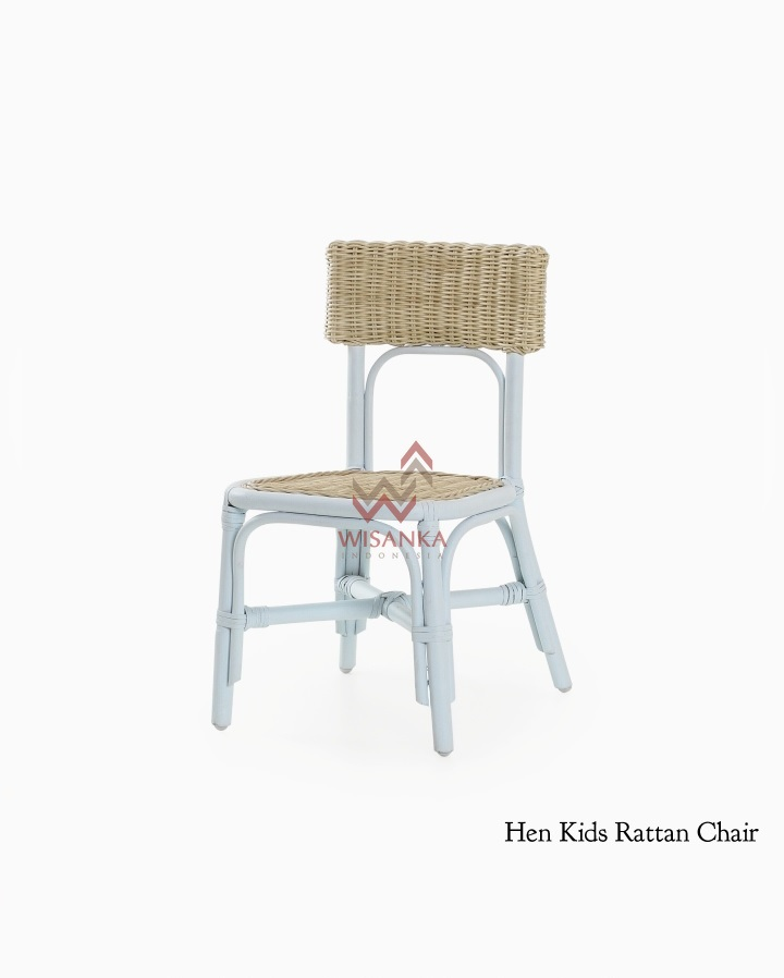 Hen Rattan Kids Chair
