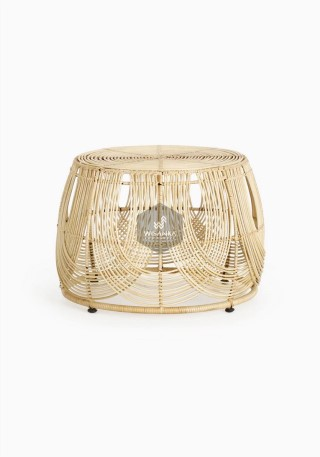 Sommerset Rattan Round Table