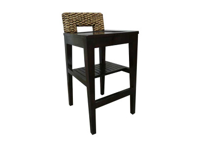 Fania Wicker Barstool