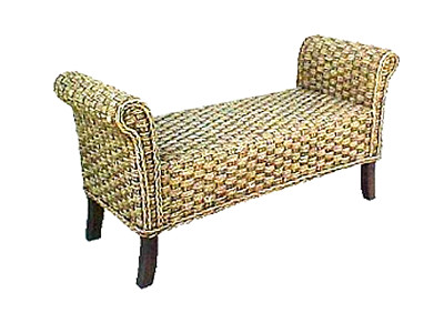 Carusel Wicker Bench
