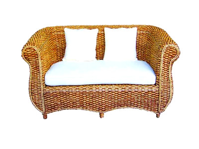 Callisto Wicker Sofa 2 Seater