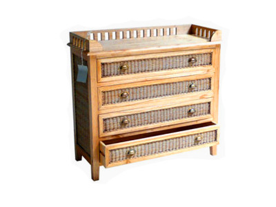 Edelwies Rattan Drawer