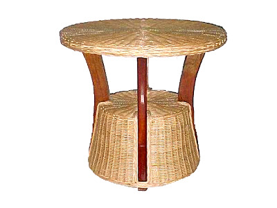 Keong Rattan Offee Table