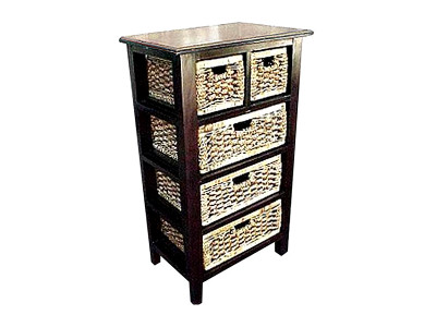 Saturno Wicker Drawer