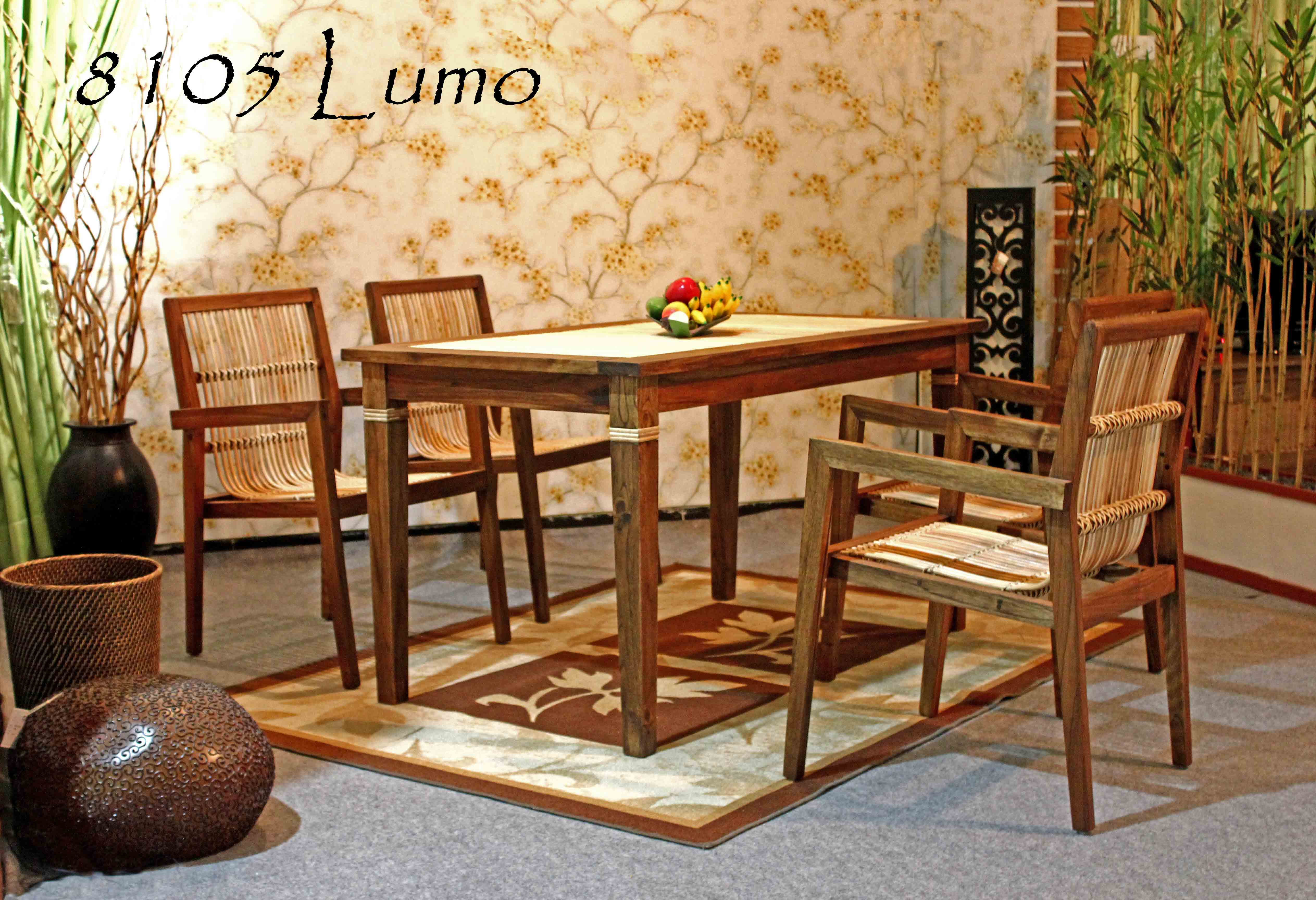 Lumo Wicker Dining Set