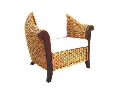 Magdalena Rattan Arm Chair