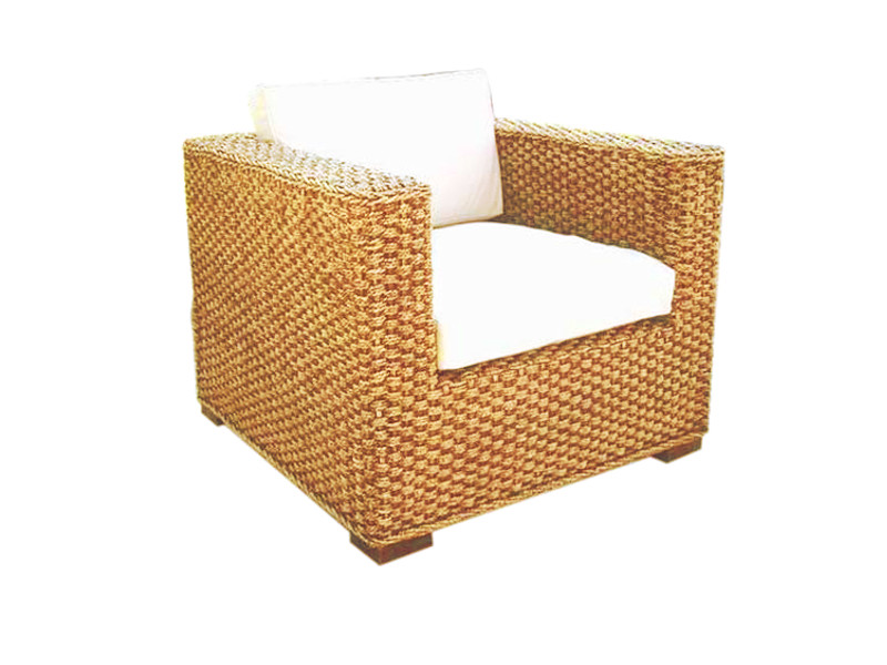Chelsea Seagrass 3x2 Woven Arm Chair