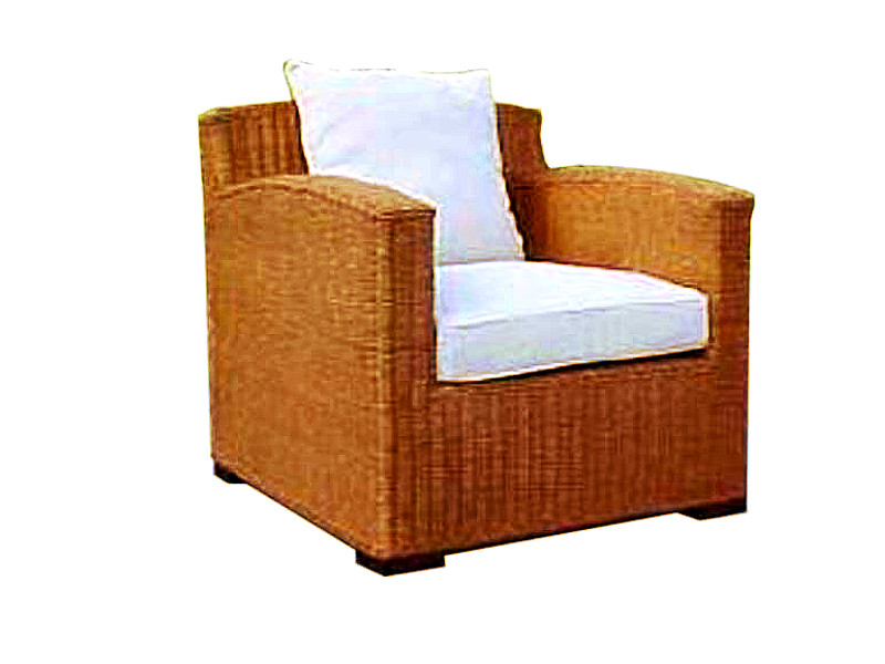 Rossana Rattan Arm Chair