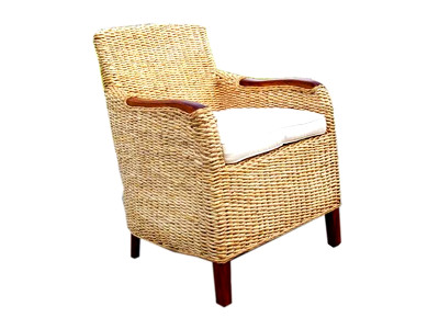 Fiona Wicker Arm Chair