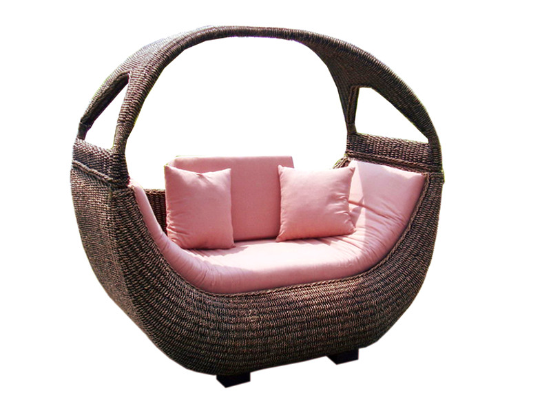 Boat Rattan Arm Chair