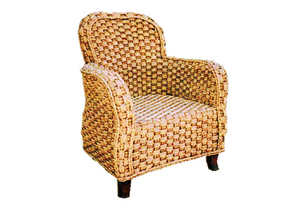Sanur Wicker Arm Chair