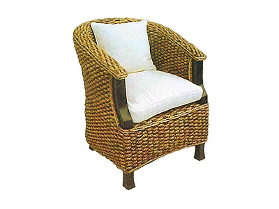 Sonia Wicker Arm Chair