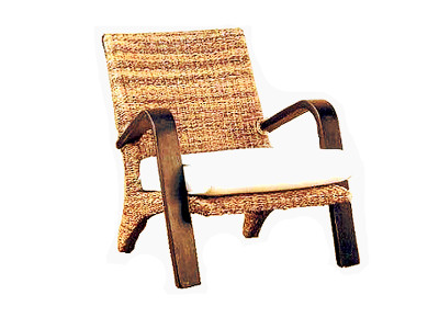 Zeta Wicker Arm Chair